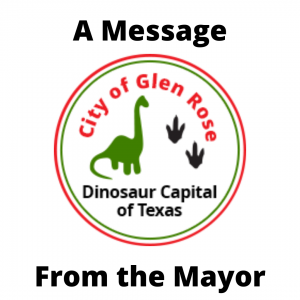 A Message From The Mayor With Logo
