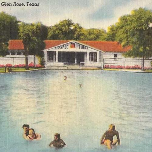 Oakdale swimming pool  in the 70's