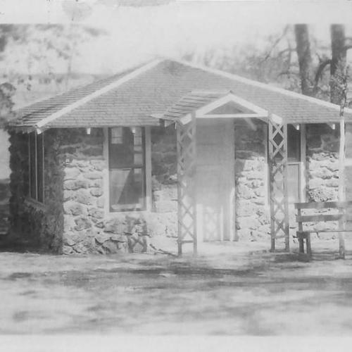 An old building at Oakdale Park