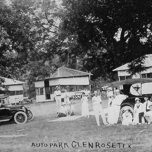 Family time at Oakdale park in the Old Days